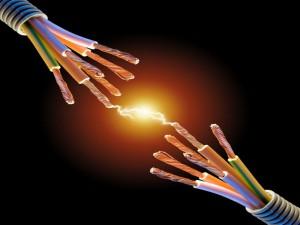 Клеммник для соединения проводов. Электрические соединения.