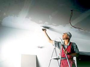 Потолок, выравнивание, шпаклевка и штукатурка потолка