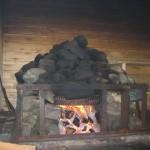 Печь для дымной бани