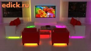 Светодиодное освещение в квартире, освещение квартиры светодиодами