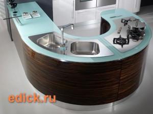 Дизайн кухни маленького размера, малогабаритная кухня