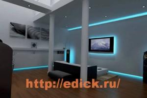 Виды осветительных приборов, светильники, освещение в доме